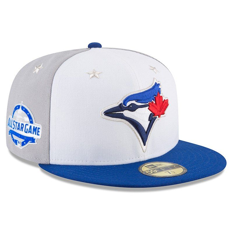 354ec78ea33 Toronto Blue Jays New Era 2018 MLB All-Star Game On-Field 59FIFTY Fitted Hat  – White Royal