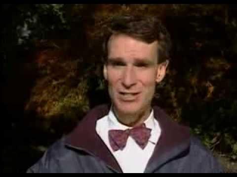 Bill Nye on a short video explaining the tilt of the Earth's influence on the seasons.