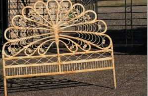 Butterfly Dragonfly Wrought Iron Headboard Wrought Iron