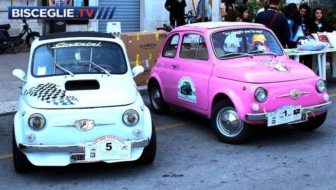 Fiat 500 Pink ピンク