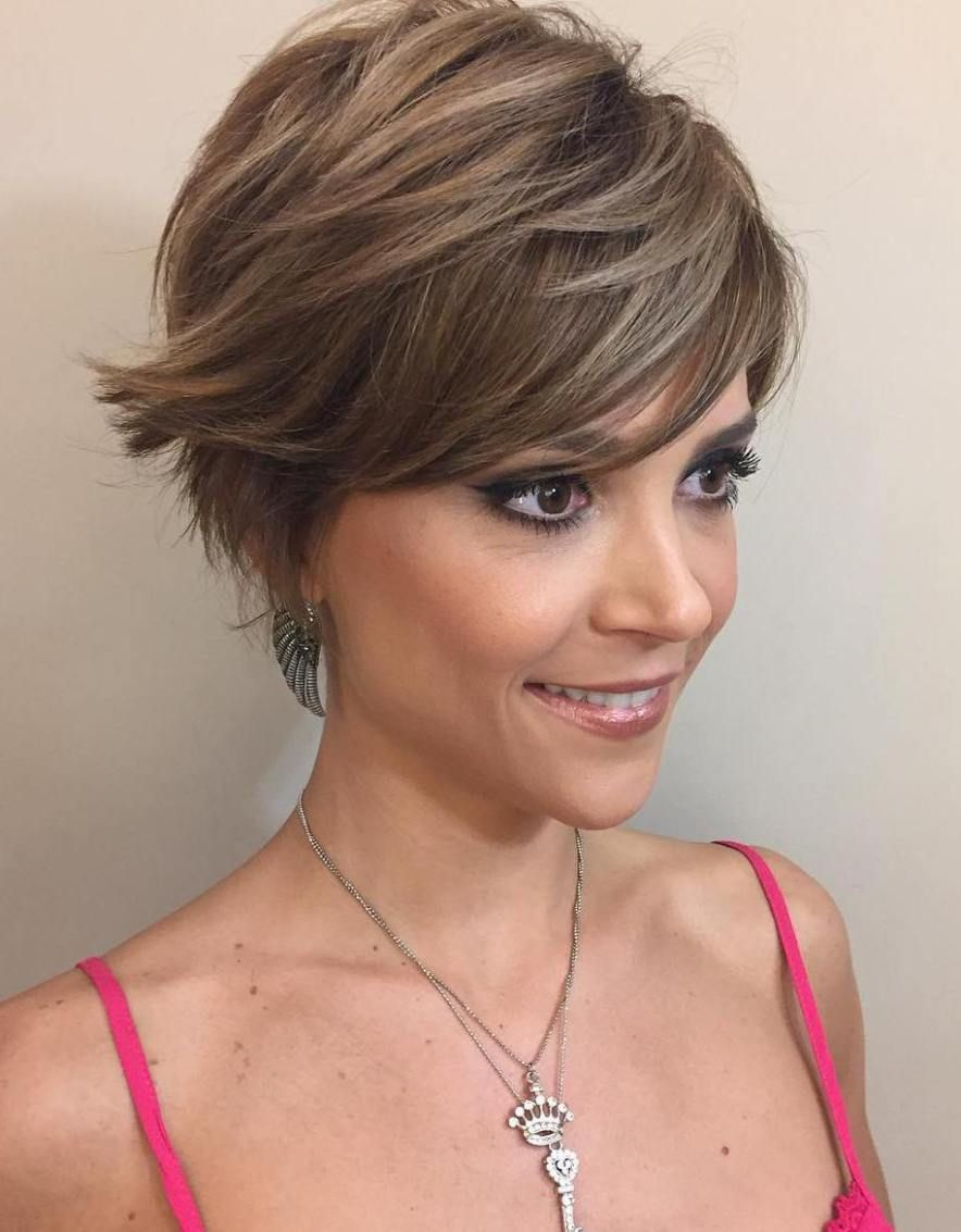 70 Cute And Easy To Style Short Layered Hairstyles Pixie Haircut