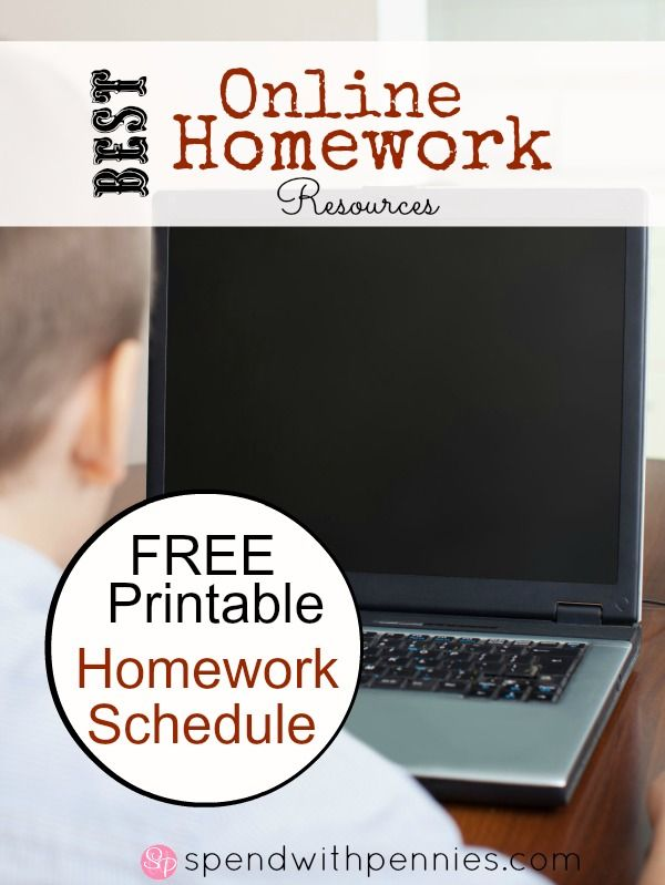 Homework help resources