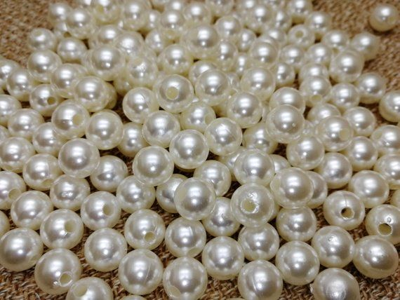 1 Strand Light Pink Glass Pearl Beads 6mm 140 Beads Faux Imitation Pearls