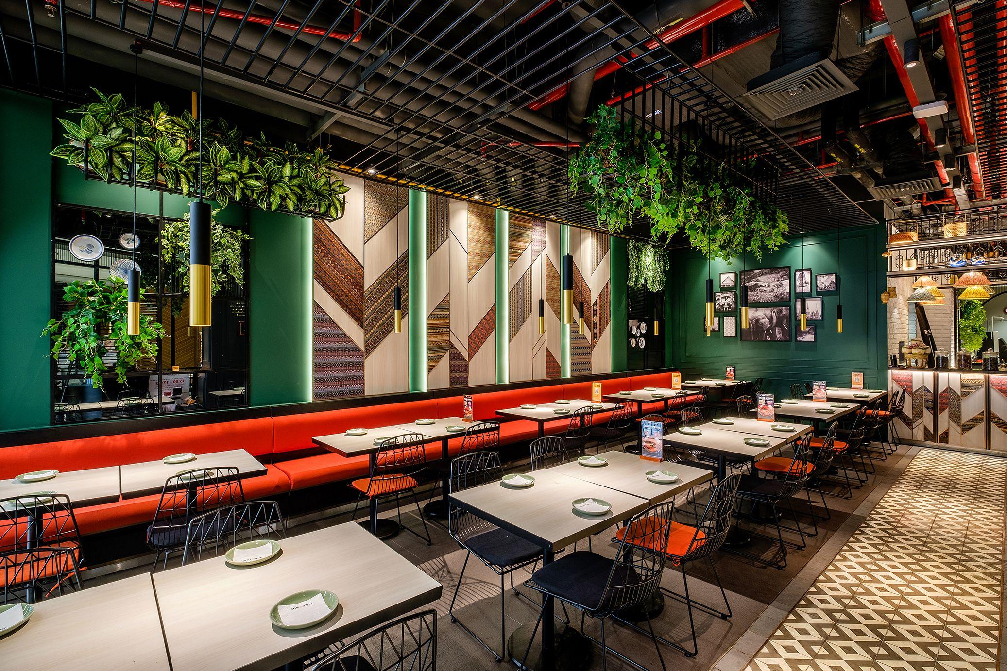 Pin By Retail Design Blog On Airport Bistro Design Thai Restaurant Ho Chi Minh City