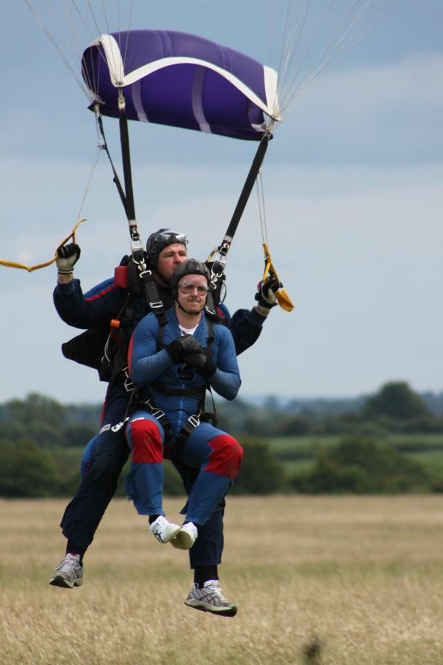 Charity Tandem Skydive For Qehb 15 07 2012 Skydiving Tandem Sports