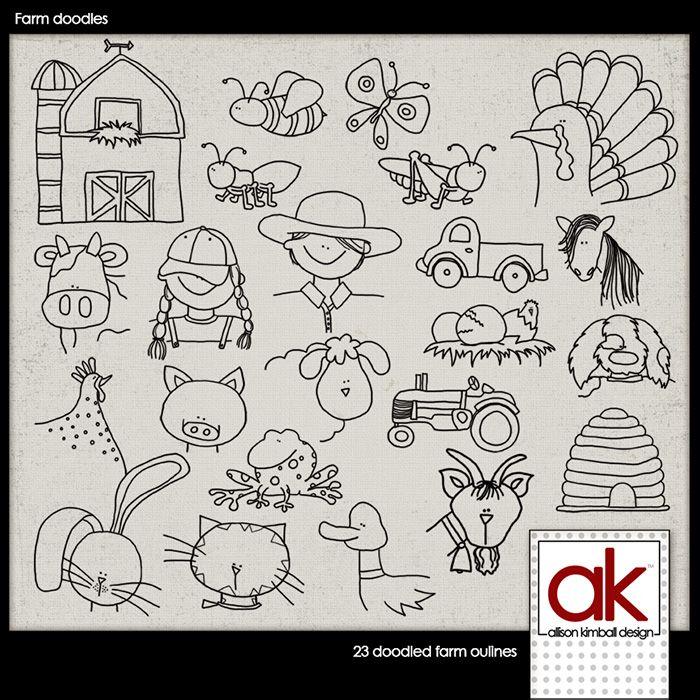Farm Doodles Free Download Doodles Cool Doodles