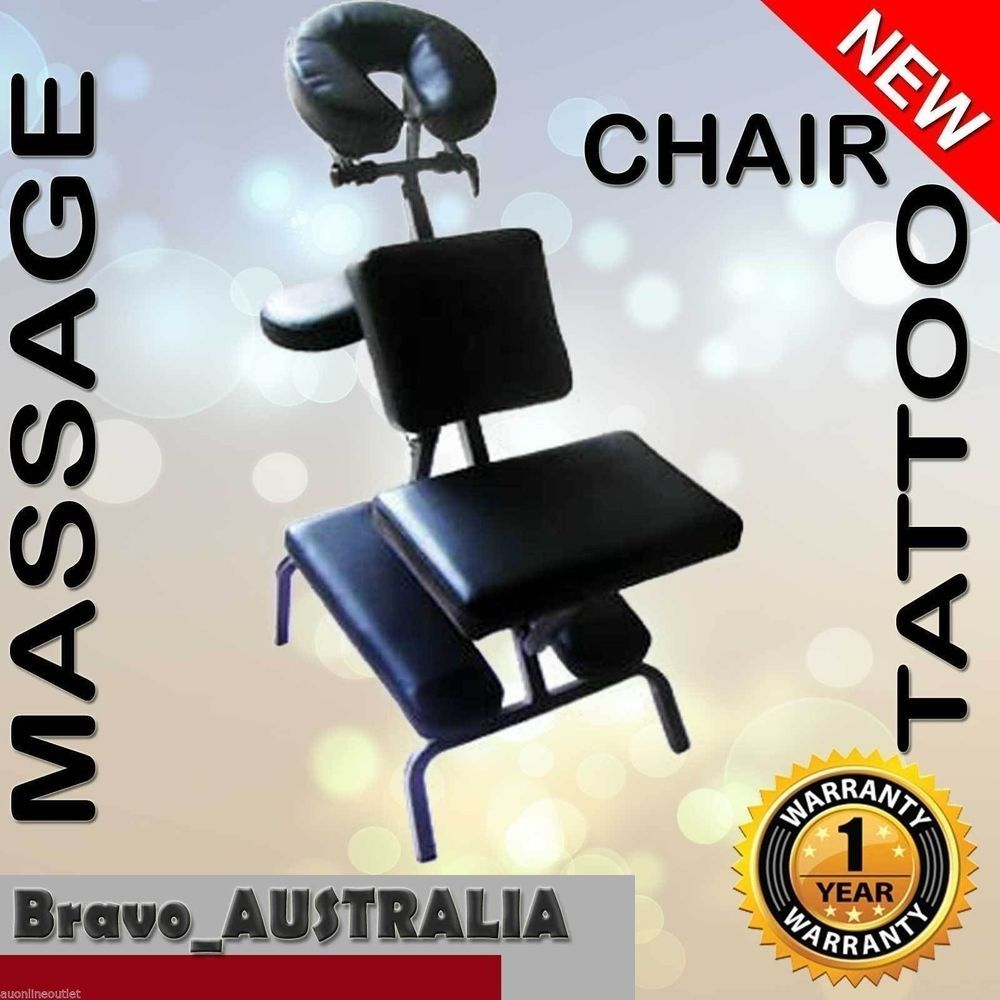 aluminium portable massage chair beauty therapy bed tattoo waxing