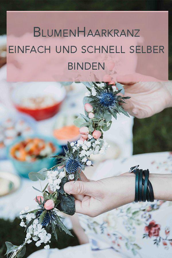 Photo of Blumenhaarkranz selber binden – Einfaches, schnelles und preiswertes DIY