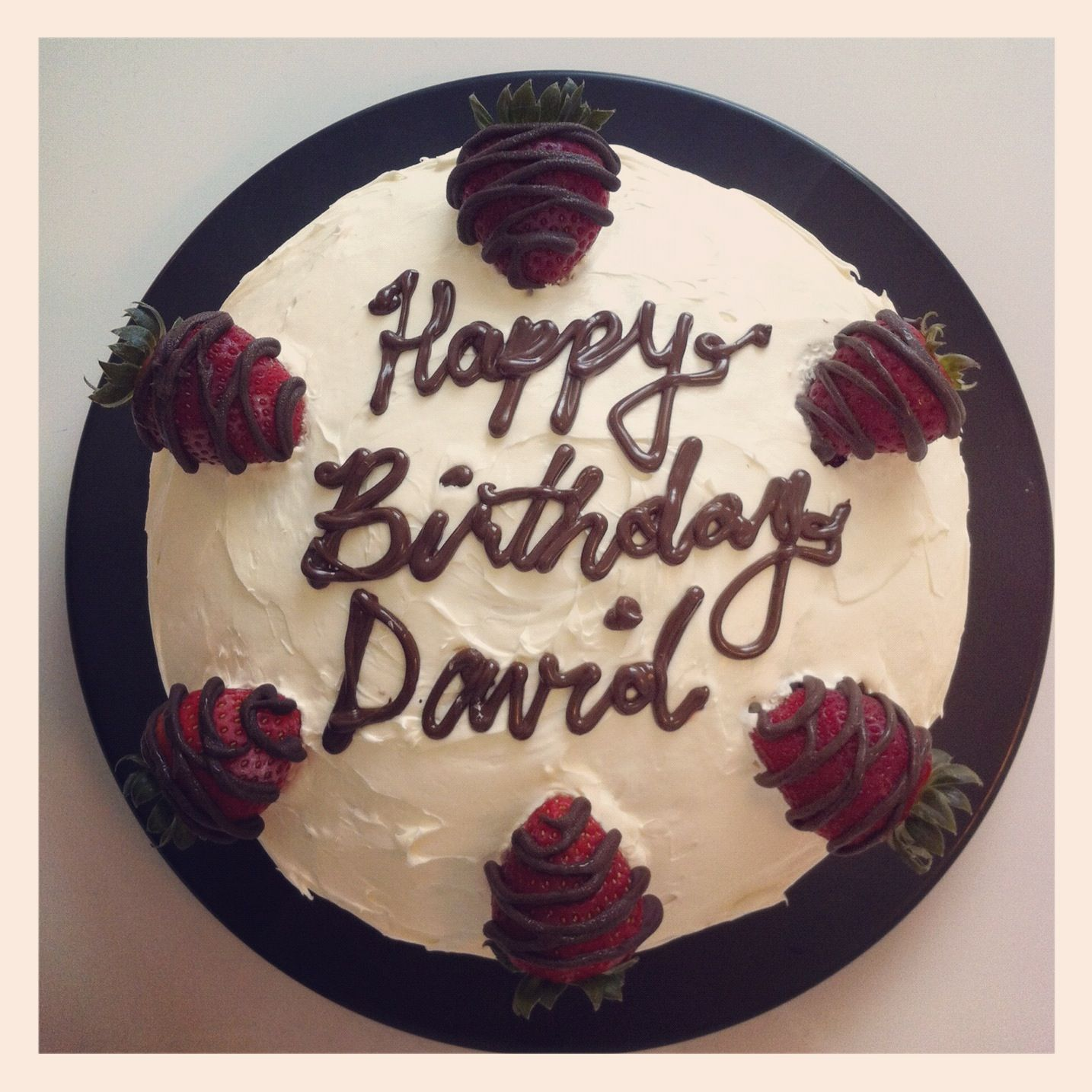 red velvet cream cheese strawberries dark chocolate 25th