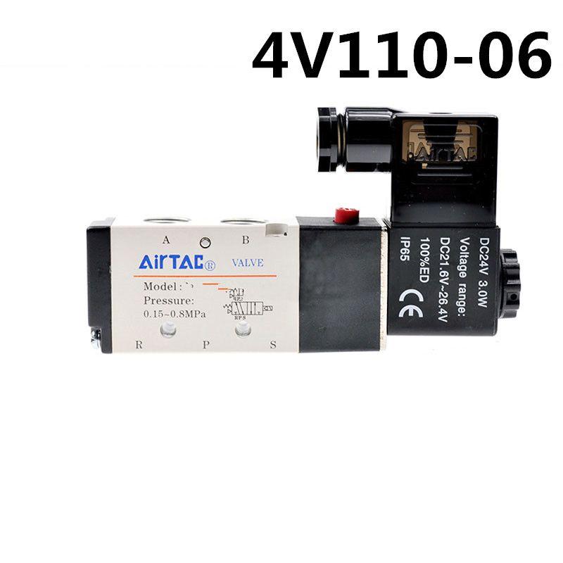 Airtac 4V110-06 4V11006 Valves w//Manifold 2