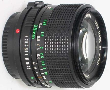 Canon 28mm F 2 8 Fd Mount