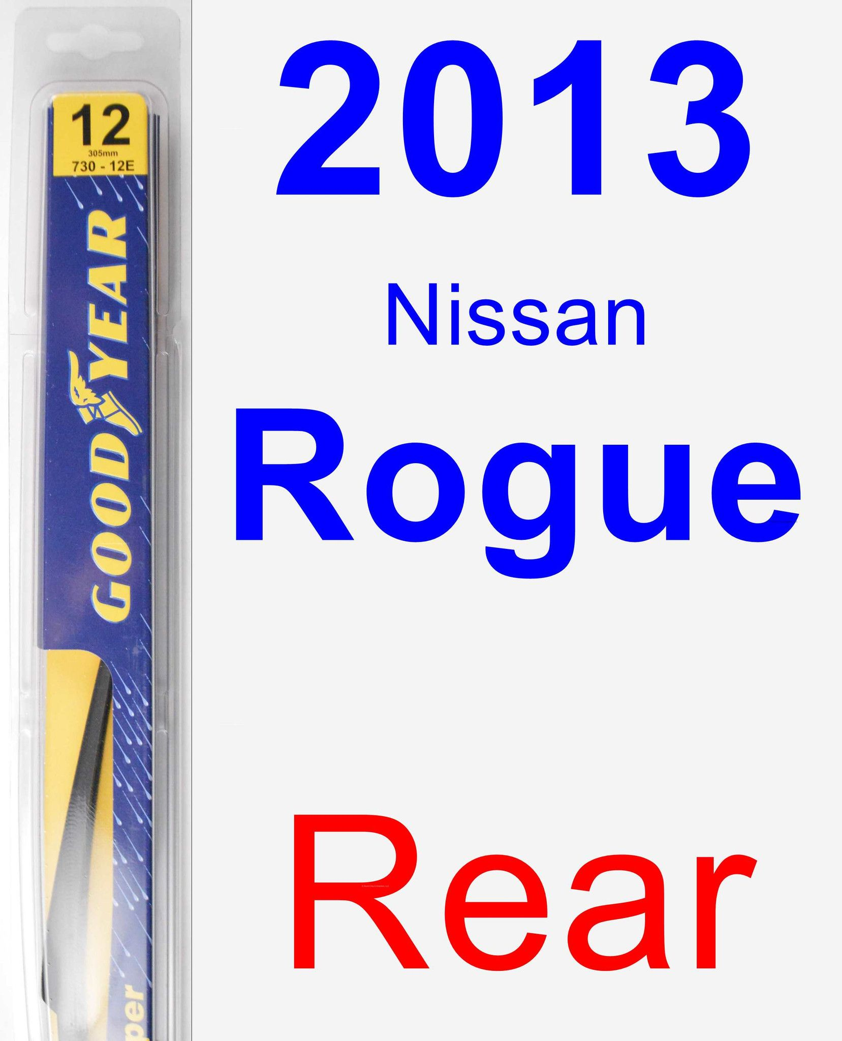 Rear Wiper Blade For 2013 Nissan Rogue Rear Toyota Venza 2014 Nissan Pathfinder Lexus Lx570