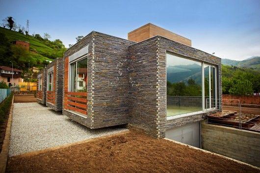 Family House In Pereda, Mieres del Camino, Asturias, Spain; 2011. by Zwei Estudio Creativo