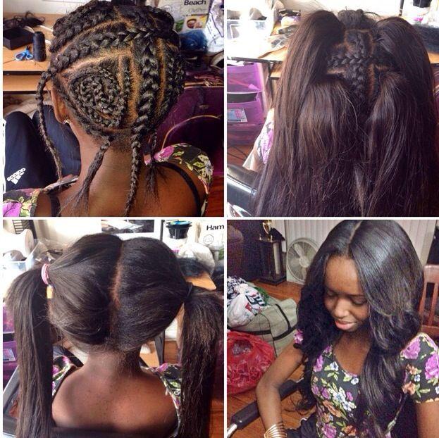 Vixen Hair Style Sew In Weave Hair Pinterest Vixen Hair