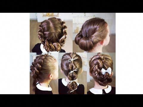 Top 5 Easy And Beautiful Hairstyles For School Super Hairstyles For