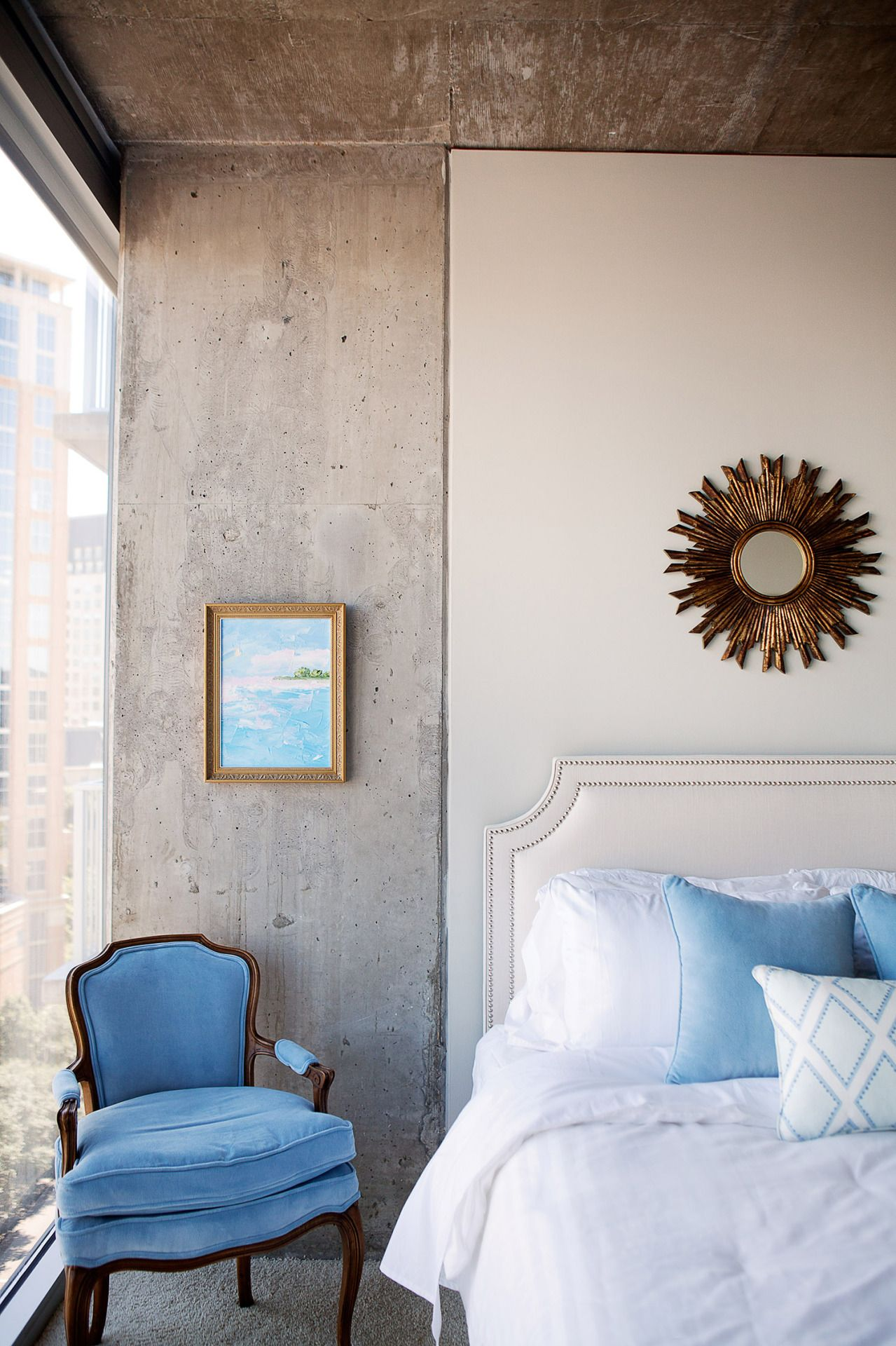 Rue magazine a serene escape at the top of the city bedrooms