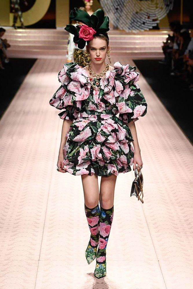 8e12aed1 Dolce & Gabbana Spring 2019 Ready-to-Wear Fashion Show | my style ...