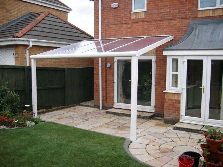 Toiture Transparente Pour Terrasse Avec Cadre En Aluminium  Toiture