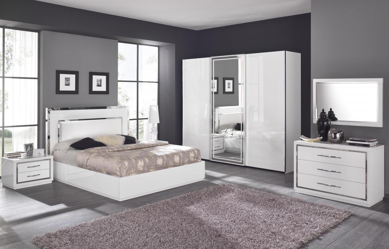 chambre parentale blanche grise et rose - Idee De Couleur De Peinture Pour Chambre Adulte