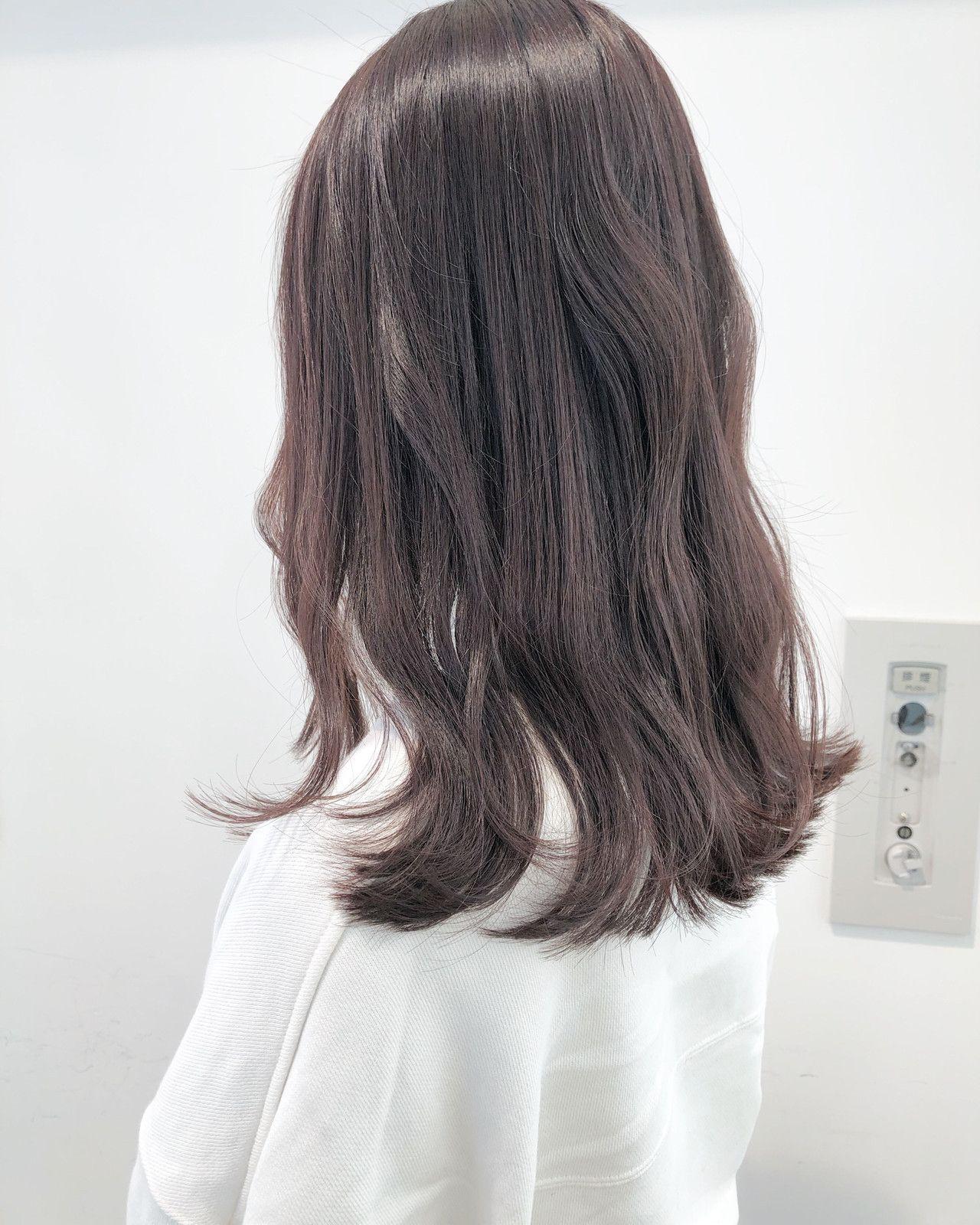 髪色はダークブラウンで旬顔になれる 今っぽヘアカラー大特集 髪 色 ダークブラウン ヘアカラー ヘア アイディア
