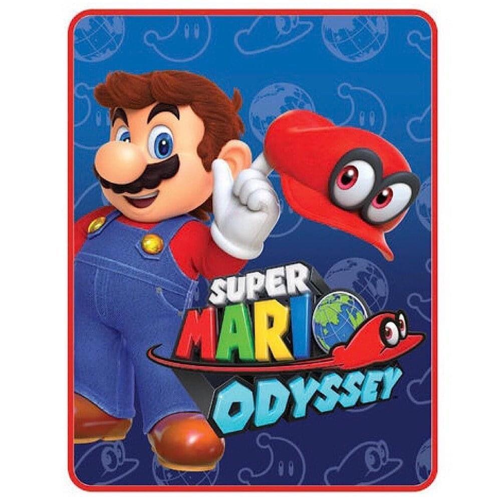 Franco Manufacturing Co Super Mario Odyssey I Got This Lightweight Fleece Throw Blanket 46 X 60 Inches Plush Throw Fleece Throw Blanket Plush Throw Blankets