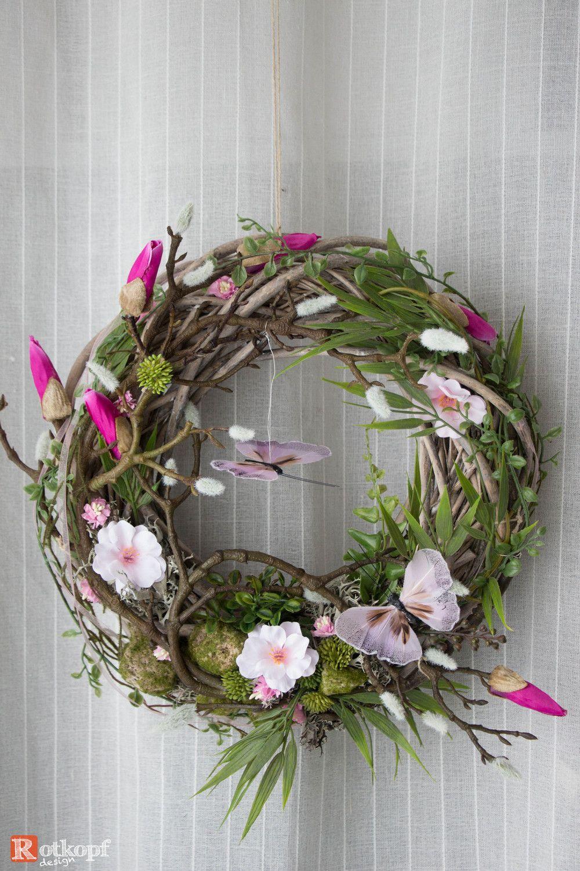 Photo of Door wreaths – door wreath 184 – a unique product by Rotkopf-design on DaWanda