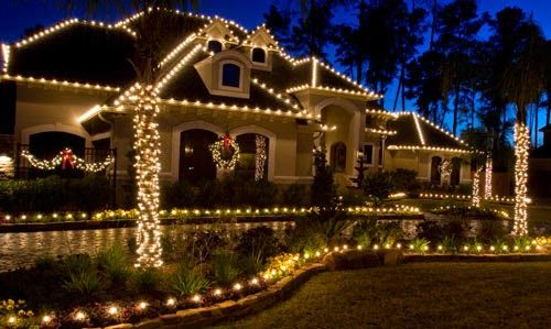 Christmas Outdoor Lights Best Homes Garden Pinterest Christmas - christmas decorations for outside
