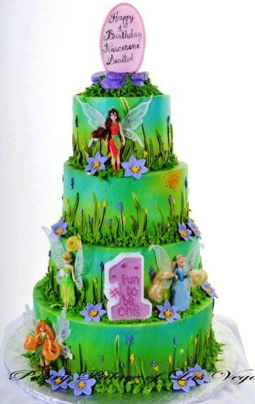 Pastry Palace Las Vegas Kids Cake 1050 Fit For A Fairy