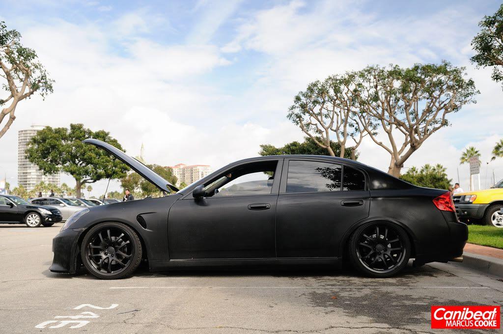 Infiniti G35 Sedan Matte Black