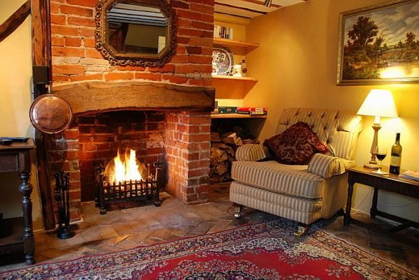 Cottage Open Fireplaces Google Search