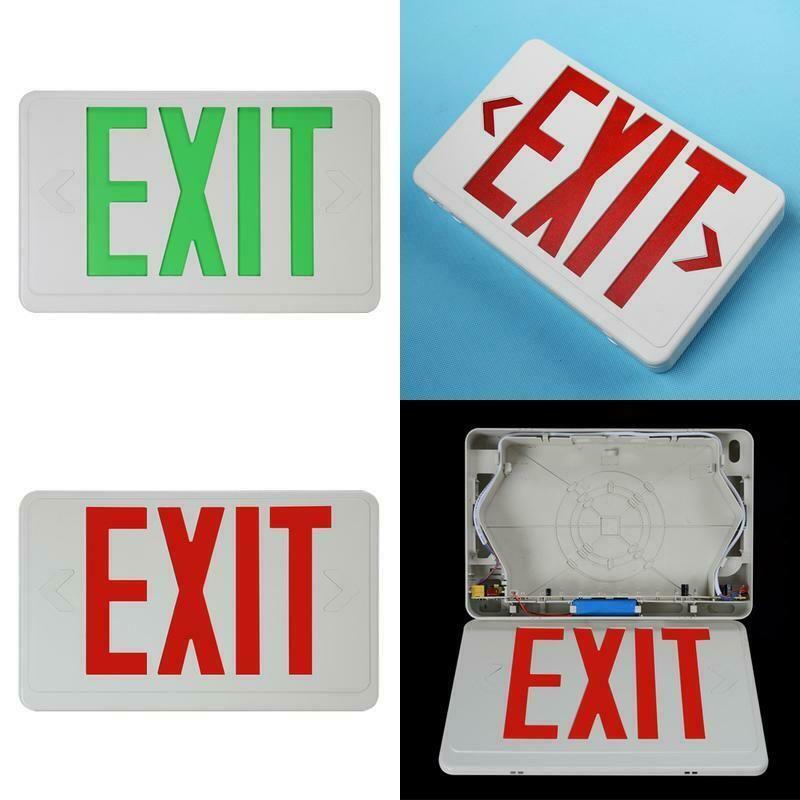 Sponsored Ebay Safe Compact Led Multifunctional Letter Light Exit Sign With Battery Backup Illu Light Letters Exit Sign Battery Backup