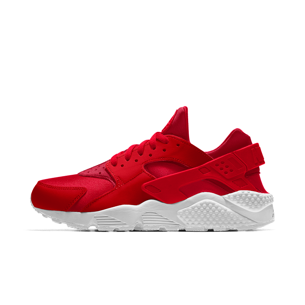 new arrival db541 91661 Nike Air Huarache Essential iD Women's Shoe Size 11 (Red ...