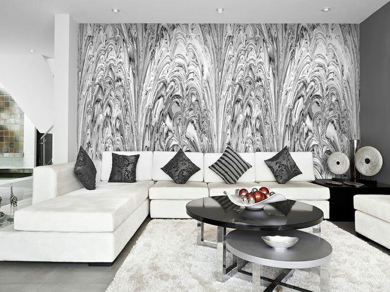 Wohnzimmer Inspiration in Graunuancen
