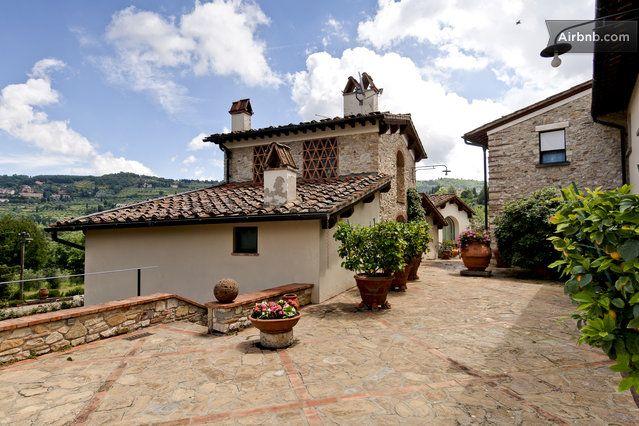 Via Di Villamagna Bagno A Ripoli Toscana Italy Backyard
