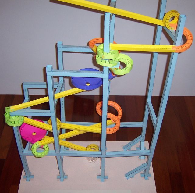 roller coaster paper templates