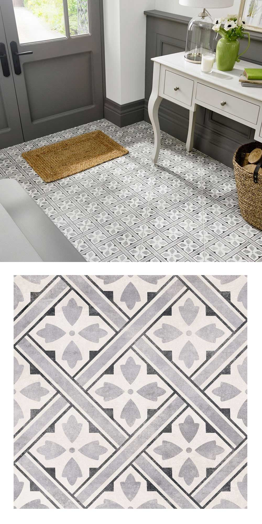 Create A Vintage Styled Statement Floor In Any Room Throughout The