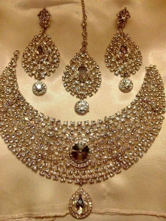 Wedding Indian Bridal Jewelry | Jewelry Sets | Pinterest ...