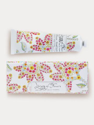 Library of Flowers Honeycomb Handcreme