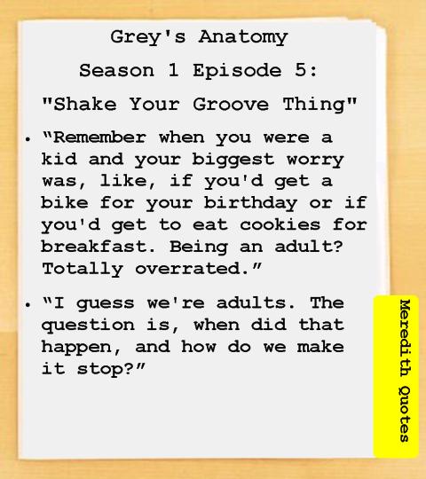 Grey\'s Anatomy Season 1 Episode 5: \