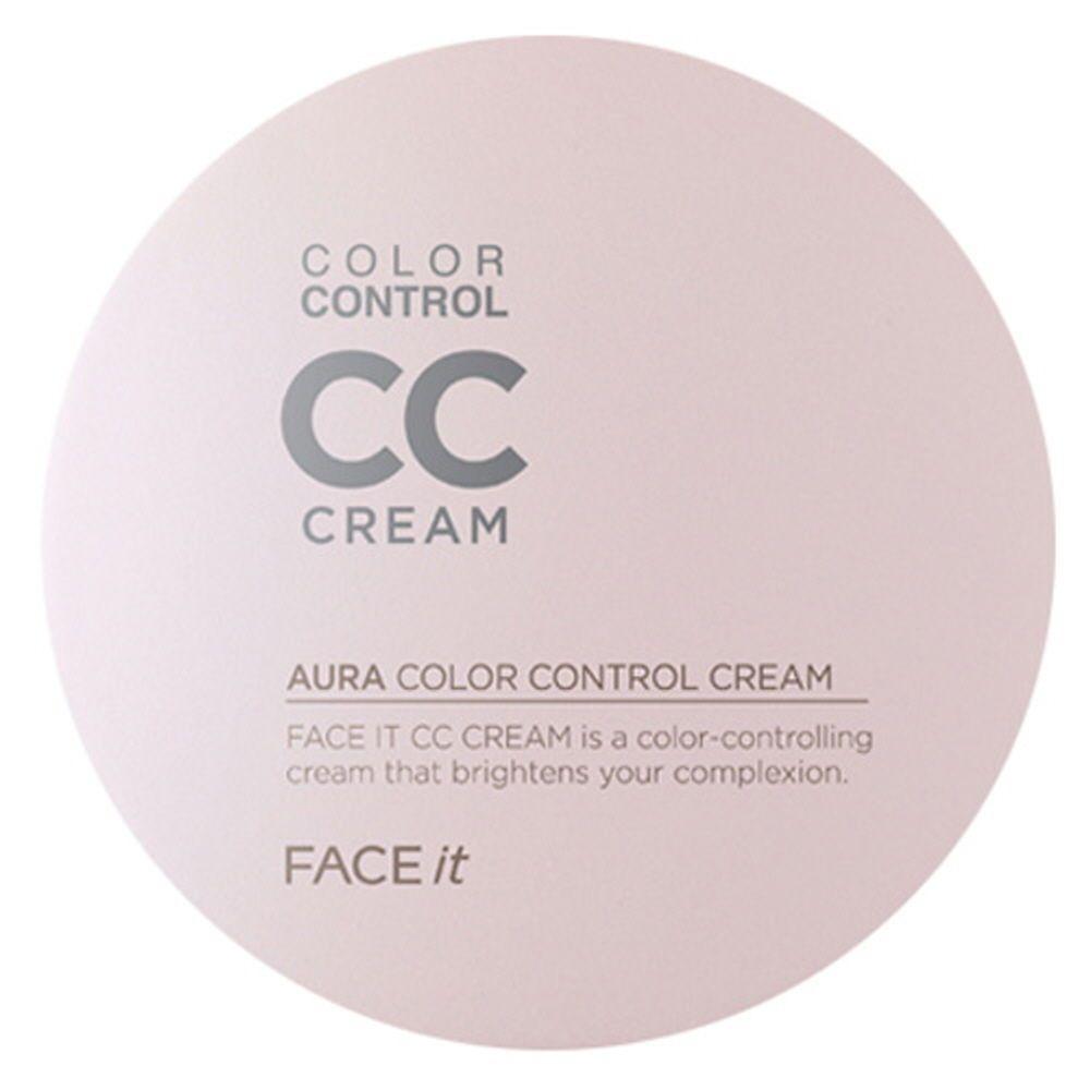 Thefaceshop Face It Aura Color Control CC Cream 20ml 02 Natural Beige | eBay