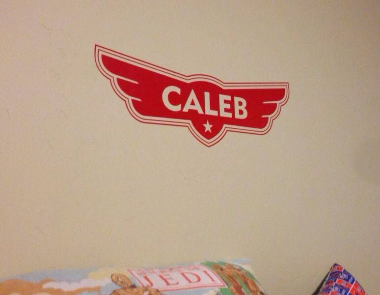 Planes Logo Personalized Name Inspired By Disney PlanesVinyl - Custom vinyl wall decals logo