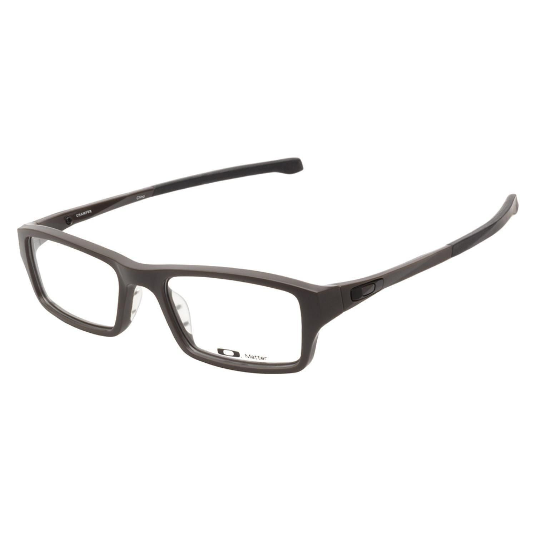 are oakley prescription glasses worth it  oakley chamfer 8039 0251 satin flint prescription eyeglasses