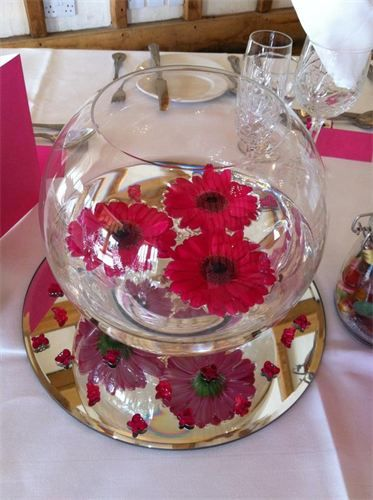 How To Decorate Fish Bowl How To Decorate Fish Bowls For Weddings  Google Search  Dream