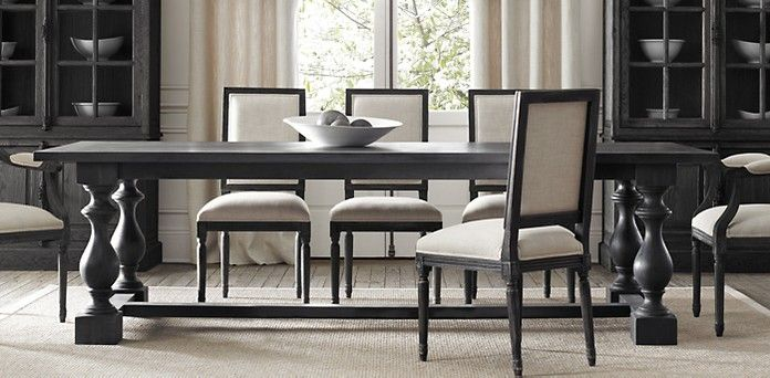 Dumont Dining Tables   Restoration Hardware I love this table! But the  price? Whoa. And it only comes in this one color...   Kitchens. - Dumont Dining Tables Restoration Hardware I Love This Table! But