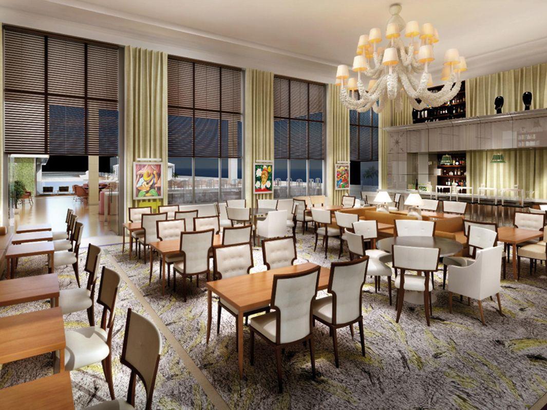 Restaurant The Bazaar in SLS Hotel, Miami Beach, designed by ...