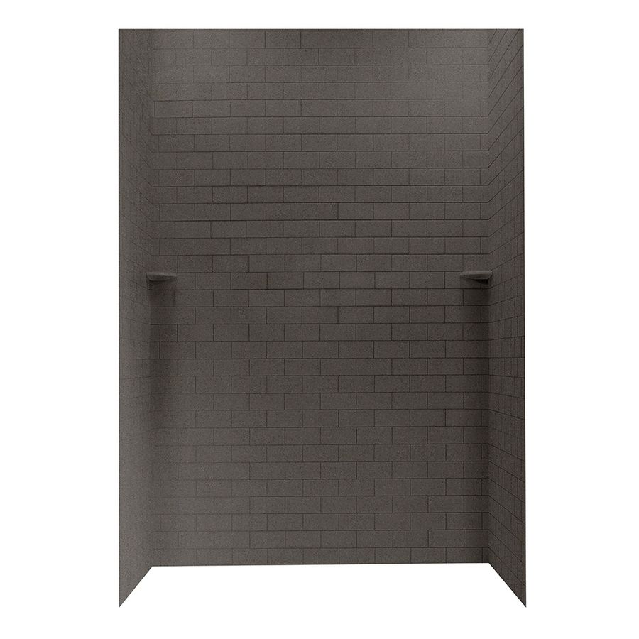 Swanstone Canyon Shower Wall Surround Side And Back Wall Kit (Common ...