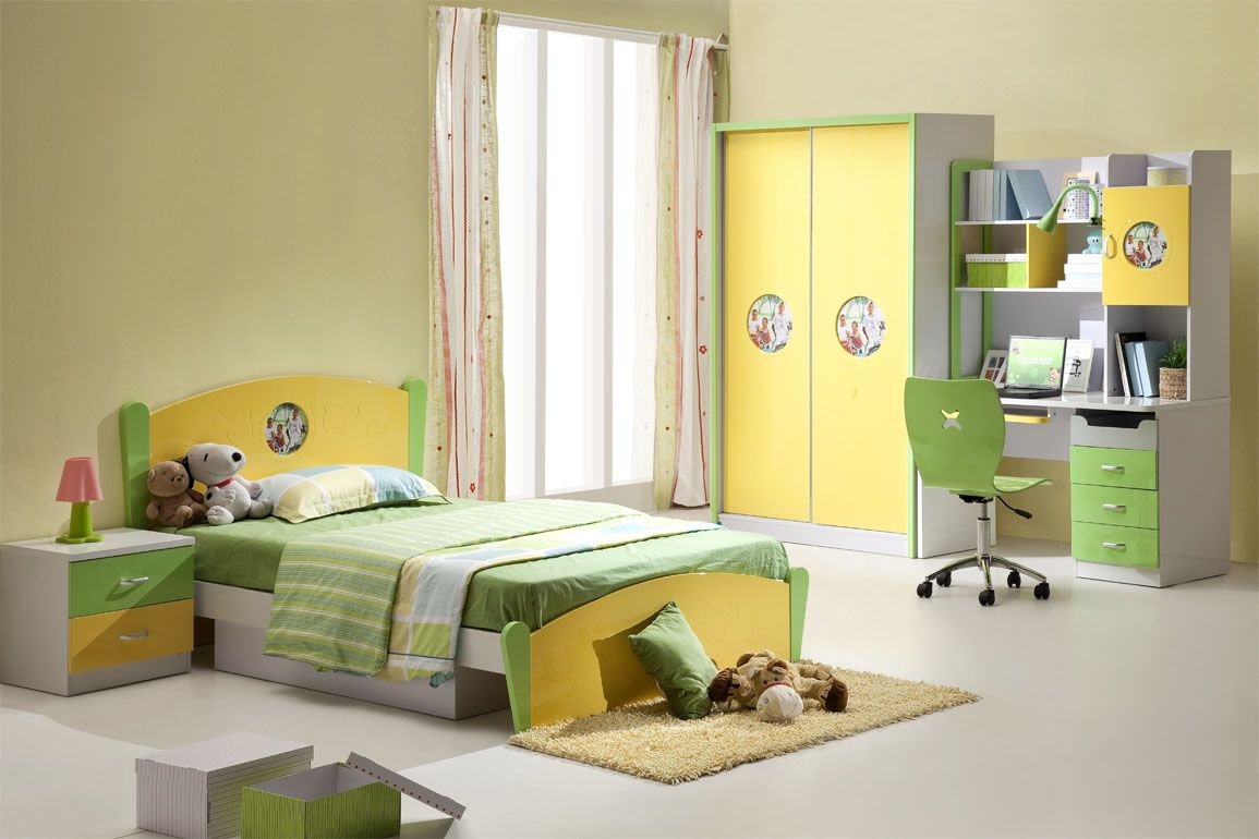 Cool Bedrooms In Pastel Green Color : Astonishing Pastel Green Kids ...