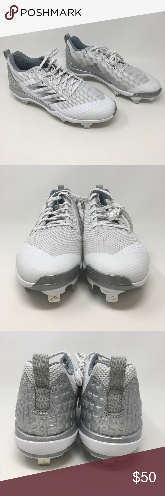 549f02a80c3b Adidas Cleats Power Alley 5 Baseball Style B39190 These mens Nike cleats  are brand new without the box. These cleats are a mens size 11 US.
