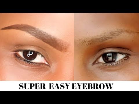 HOW TO DRAW A PERFECT EYEBROW/ BEGINNER FRIENDLY TUTORIAL/supper easy to follow.
