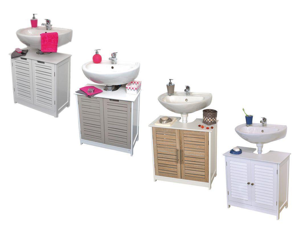 17++ Evideco bathroom wall mounted storage cabinet wood stockholm oak type